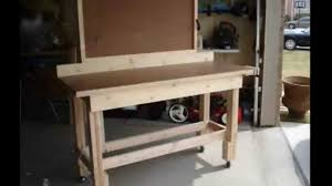 Proper Woodworking Bench Height by Workbench Plans How To Build A Workbench Youtube