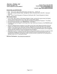 Define Functional Resume Pmi Functional Resume