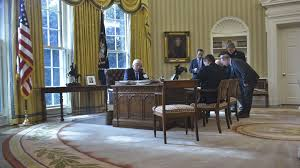 trump oval office redecoration trump is spending almost 2 million on white house redecorating