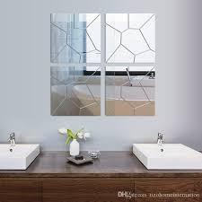 mirror decals home decor new diy 3d acrylic mirror decal mural wall sticker home decor