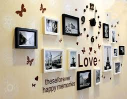 Home Decor Photo Frames Buy 13pcs Wooden Photo Frames Set Black And White Home Decor