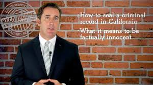 Expunge Criminal Record California How To Seal An Arrest Record In California Penal Code 851 8