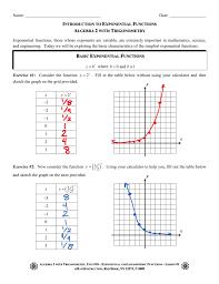 Exponents Printable Worksheets Worksheet Functions Algebra 2 Laurelmacy Worksheets For