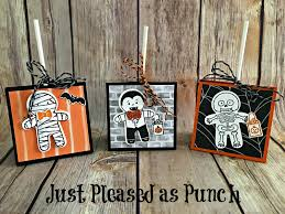 just pleased as punch video stampin u0027 up cookie cutter halloween