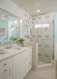 Blue And White Bathroom by Natural Stone Design Gallery