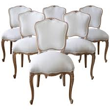 country dining room sets louis xv style french country dining chairs at 1stdibs