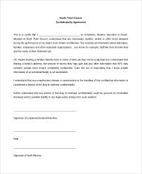 staff confidentiality agreement sample confidentiality agreement