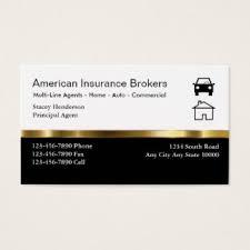 Standard Business Card Format Insurance Business Cards 1900 Insurance Business Card Templates