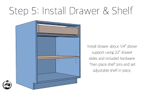 how to build a base for cabinets to sit on 30in base cabinet carcass frameless rogue engineer