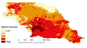 Missouri Wildfire Map by Develop U0027s Projects