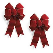 16 outdoor wired ribbon bows set of 2 wreath bannister swag