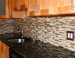 kitchen comely small kitchen decoration using black glass tile