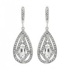 art deco wedding earrings glitzy secrets