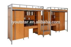 Plywood Bunk Bed Metal Frame And Plywood Bunk Beds With Desk And Wardrobe