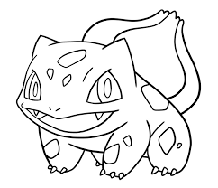 bulbasaur evolution coloring pages coloring