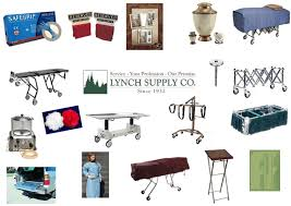 funeral equipment supplies