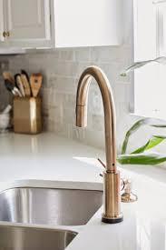 delta kitchen faucet 410 sinks u0026middot like it delta trinsic delta kitchen faucet 410 sinks u0026middot like it delta trinsic champagne bronze kitchen faucet