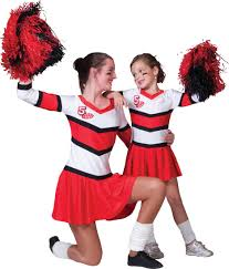 Halloween Costumes Cheerleaders Cherry Cheerleader Costume Costume Craze