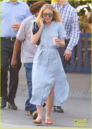 dakota fanning looks all ready for spring in nyc photo 3634846