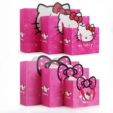 hello gift bags fashion hello birthday party handbag15pcs lot kid