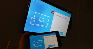 android screencast chromecast app updates with material design ui and screen