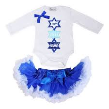 hanukkah clothes baby girl clothes royal blue white pettiskirt tutu my