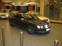 black bentley black bentley flying spur with rims 1 madwhips
