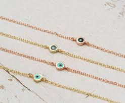 gold evil eye bracelet images Extra tiny evil eye bracelet round solid gold evil eye 14k etsy jpg