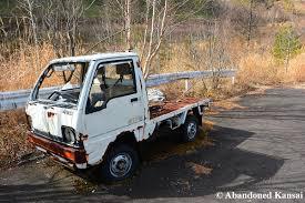 kei truck abandoned japanese mini truck abandoned kansai