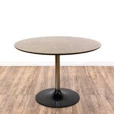 eero saarinen style black tulip base dining table eero saarinen