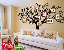 Tree Wall Decals For Living Room Decal Living Room Wall Decal Family Wall Decal Family Tree