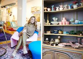 Lisa Fine Textiles by Work To Home Sasha Bikoff U0027s Downtown Dreamland Home Tour Lonny