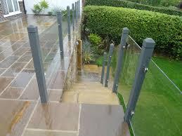 Landing Banister Glass Staircase Ebay