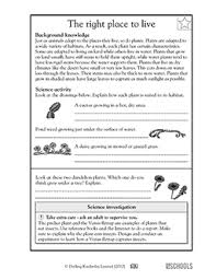 free printable 5th grade science worksheets word lists and