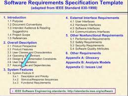 report requirements template 23 the software requirements specification