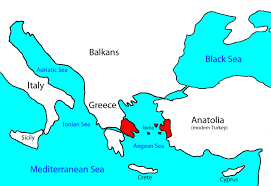 Turkey Greece Map by Evolution The History Of An Idea Kaiserscience