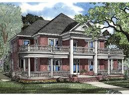 southern plantation house plans weldon manor revival home plan 055s 0013 house plans and more