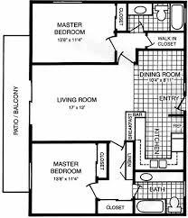 Master Bedroom Floor Plan Designs Bedroom Apartments With 2 Master Bedrooms Beautiful On Bedroom