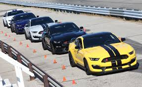 Mustang Yellow And Black Triple Yellow 2016 Ford Mustang Shelby Gt350r Coupe