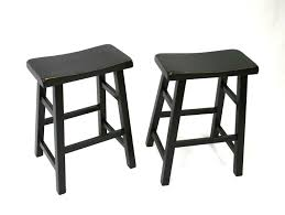 Black Backless Counter Stools Furniture Stunning Bar Stools Counter Height For Kitchen