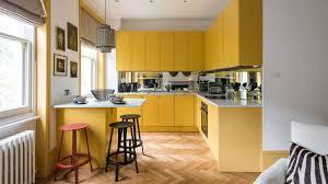 light yellow kitchen with white cabinets 30 beautiful yellow kitchen ideas