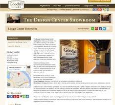 goodall homes case study home builder websites