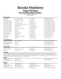 Stagehand Resume Examples by Assistant Stage Manager Resume Sales Assistant Lewesmr 12 Useful