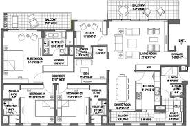 Dlf New Town Heights Floor Plan 1476470564panorama Suites Floor Plan Floor Plan 3bhk 3733 Sqft Jpeg