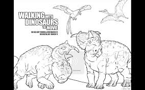 walking with dinosaurs free printable coloring pages and dvd