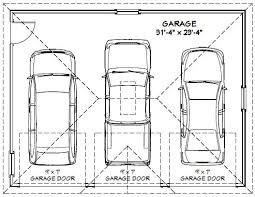 size of a three car garage 3 car garage dimensions dandk organizer 2 car garage door size
