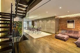 Loft Modern World Of Architecture Modern Townhouse With Loft Design New York