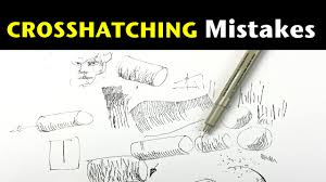 top 3 cross hatching mistakes tips on how to avoid them youtube