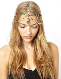 bohemian hair accessories new fashion jewelry beaded charming antique bohemian hair jewelry