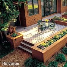 Cheap Planter Boxes by Built In Planter Ideas Large Patio Planter Boxes Outdoor Planter